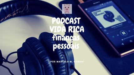 capa podcast vida rica