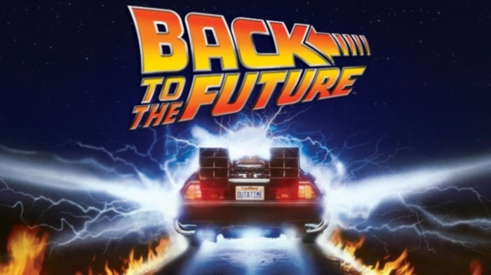 cartaz de volta para o futuro / back to the future